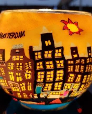 Leuchtglas Amsterdam Dag