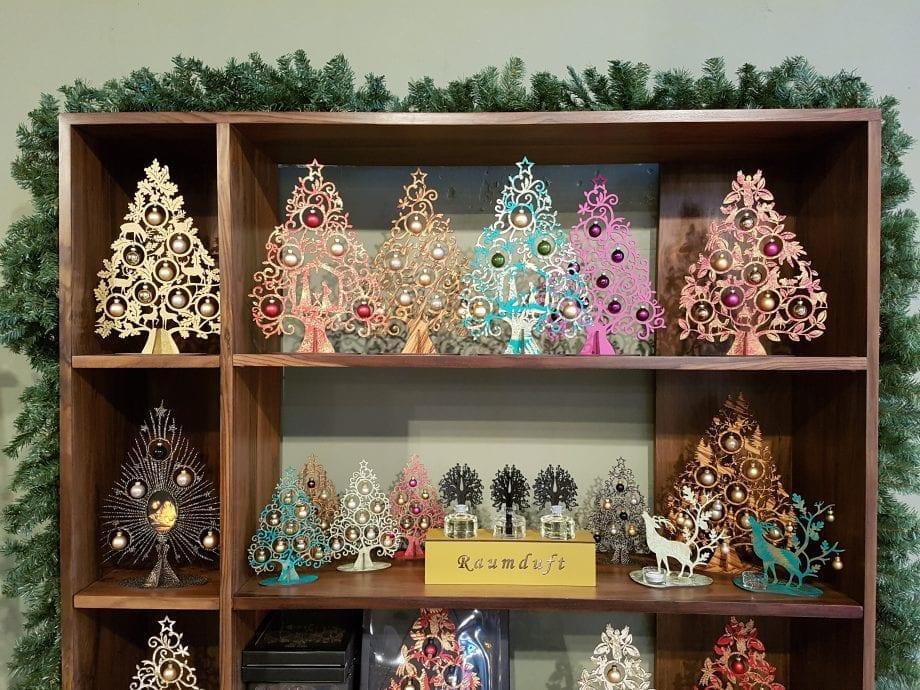 Kölnschätze kerstboom tafeldecoratie