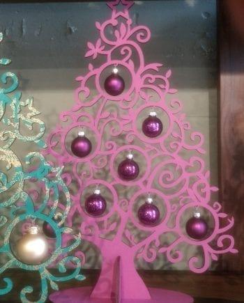 Kölnschätze Kerstboom Curl Roze
